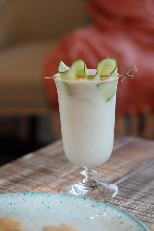 Cucumber Coconut Cocktail Recipe